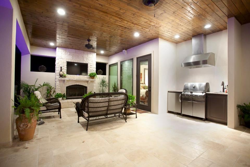 Baseboards and Trim Custom Home Builder San Antonio TX