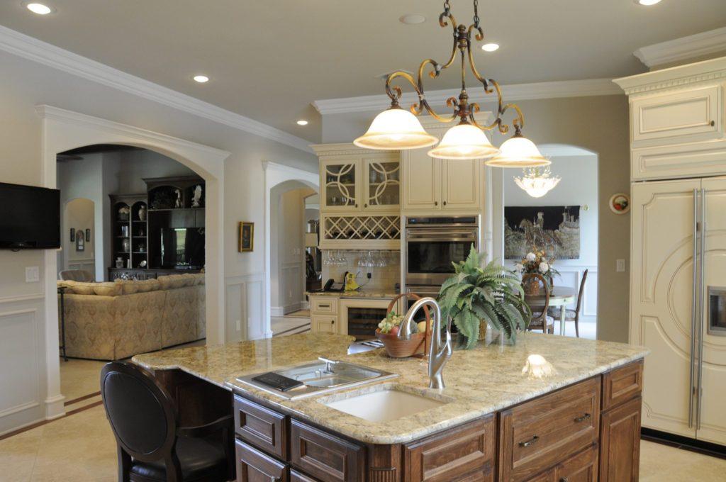 San Antonio Custom Home Builders Bayless Custom Homes - Custom Homes Tyler - The White Home Kitchen Version 2